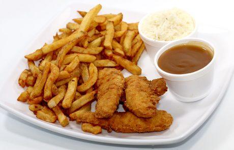 Casse-Croûte d'en Haut - Assiette de filets de poulet