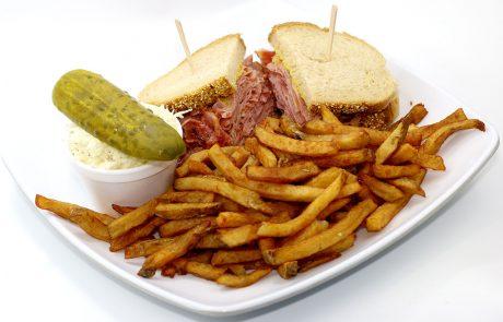Casse-Croûte d'en Haut - Assiette viande fumée