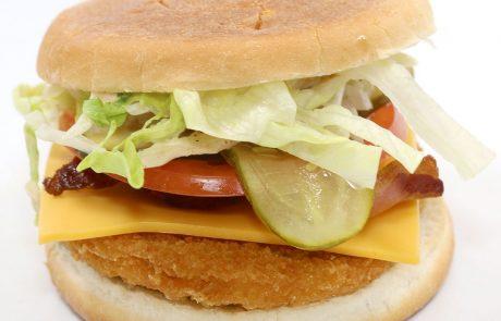 Casse-Croûte d'en Haut - Burger des Diables au poulet pané