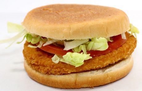 Casse-Croûte d'en Haut - Burger poulet pané