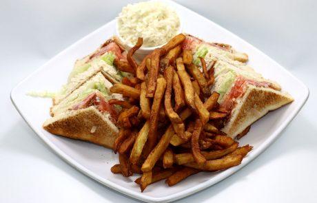 Casse-Croûte d'en Haut - Club sandwich