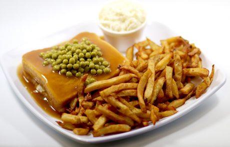 Casse-Croûte d'en Haut - Hot chicken viande blanche