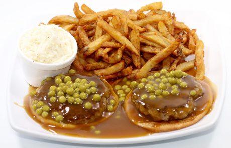 Casse-Croûte d'en Haut - Hot hamburger