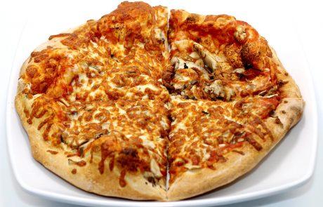 Casse-Croûte d'en Haut - Pizza champignons