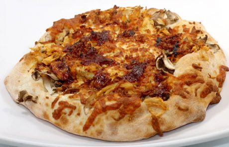 Casse-Croûte d'en Haut - Pizza poulet bbq