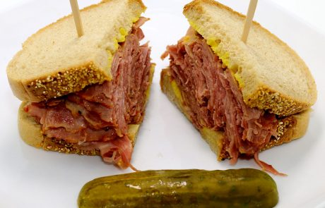 Casse-Croûte d'en Haut - Sandwich viande fumée